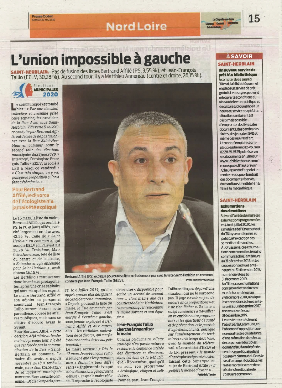 L'union impossible à gauche
